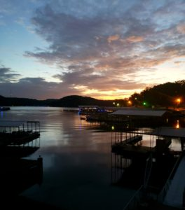 sunrise, lake of the ozarks,